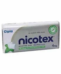 4mg Nicotex Nicotine Chewing Gum