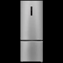 Silver Auto Haier Refrigerator, Double Door