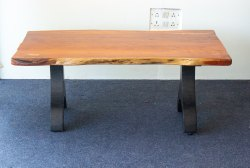 Wooden Live Edge Coffee Table