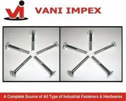 VI M 6 To M 12 Ss Carriage Bolt