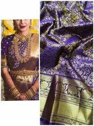 Silk Jari Work Indian Bridal Wear