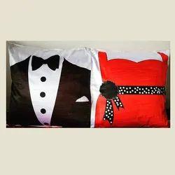 Sublimation Couple Cushion