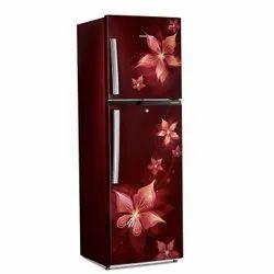 Voltas Beko 271 L  2 Star Frost Free Double Door Refrigerator (Emeria Red) (2020)F