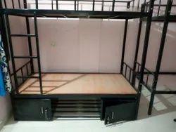 Storage bunk bed Bed