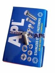 APL Stainless Steel Fasteners, Material Grade: Ss 304, Size: 16 X 40 Mm
