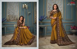 Juliet Chiffon Wonder By Vipul Printed Designer Fancy Sarees