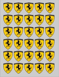 Yellow Printed PVC Garment Sticker, Size: 10x9inch