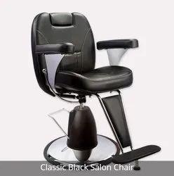 Classic Black Salon Chair