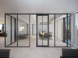 Partition Doors Office Aluminium Sliding Door