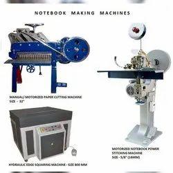 Semi Automatic Note Book Manufacturing Machine
