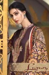 Agha Noor Vol-4 Luxury Lawn Salwar Suits Catalog Collection