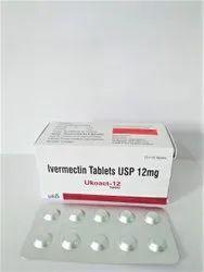 Ukoact-12 Ivermectin 12mg Tablets