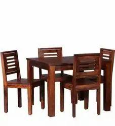 4 Seater Sheesham Wood Dining Table