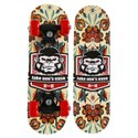 Wood Strauss Kids Skateboard (chimps) ( St-1465 ), For Skateboarding, Size: Small
