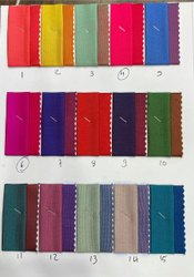 56inch Two Ton Tapeta Sartin Silk Polyester Fabric, Gsm: 140, Washeble