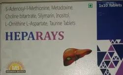 Tablet L-Ornithine-L-Aspartate, Tricholine, Silymarin With B.Complex Syrup