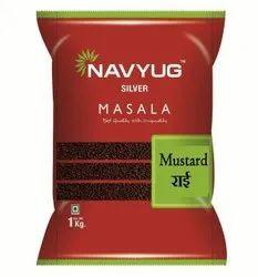 Black 1 Kg Navyug Silver Mustard Seed