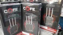 Black 2 Cofe 4g Wifi Wireless Router 300 Mbbs