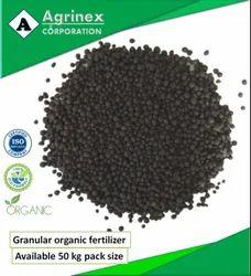 Bio-Tech Grade Packaging Size: 50kg Granular Organic Fertilizer, For Agriculture, Target Crops: Vegetables