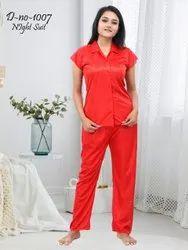 Jagdish Creation 7 color Women Shirt & Pyjama Set