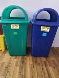 80 Liters Plastic Dustbin