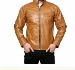 Men's Racer Leather Jacket