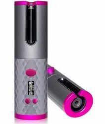Cordless Hair Curler Automatic Curling Iron - Ceramic Rotating Hair Curler