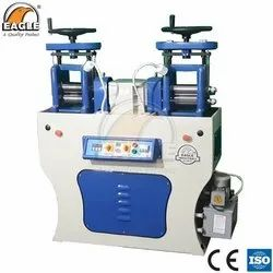Eagle Supreme Wire And Sheet Double Head Rolling Mill For Jewellery Making