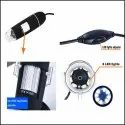 Auslese 50 to 1000x Magnification Endoscope, 8 LED USB 2.0 Digital Microscope
