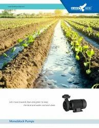 5HP AC Solar Surface Monoblock Pump With Controller
