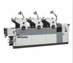 Offset Printing Machine Three Color