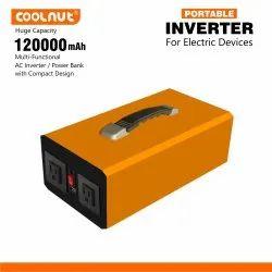 Coolnut 120000mAh Power Bank/Mini Inverter/Power Backup