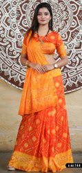 Fancy Designer Bandhani Saree