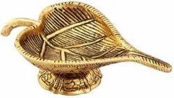 Gold Plated Diya For Pooja Purpose & Corporate Gift
