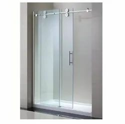 Stainless Steel Sliding Glass Door, Size: 1000x1000x1900mm
