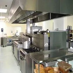 Cold Square Stainless Steel SS Commercial Kitchen Equipment, For Restaurant