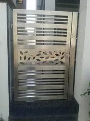 Hinged Stainless Steel Safety Gate, For Home