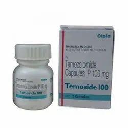 100 Mg Temozolomide Capsules IP