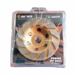 MAF Gold India Diamond Cup Grinding Wheel
