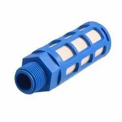 AB Pneumatics Plastic Pneumatic Muffler Silencer, Size: 1/2 Inch