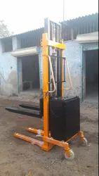 STK-112 Double Mast Hydraulic Hand Stacker