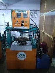 Fully Automatic Hydraulic Thali Pattal Making Machine