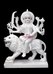 Marble Durga MataStatue