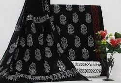 Unstitched Printed Cotton Suit Fabric