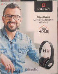 Live Tech Wired Headphone With Mic