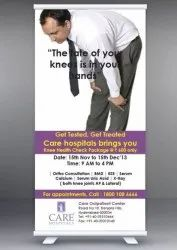 Posters and Banner Standee Designing Services, Local Area
