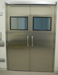 Stainless Steel Hospital Door