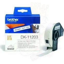 Dk11203 Brother File Folder Label