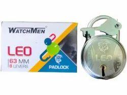 With Key Normal 60mm Iron Padlock, Padlock Size: 63mm, Chrome