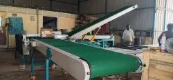 Hydraulic operated Truck Loading Conveyor System